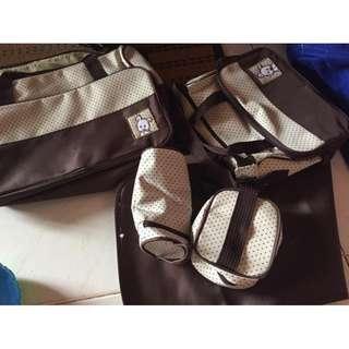 [New] 5 in 1 Mummy Essential Diaper Bag #midjan55