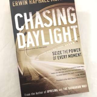 Charity Sale! Chasing Daylight by Erwin Raphael McManus