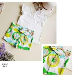 Blouse & shorts (2pcs set)