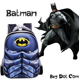 Batman school bag (READY STOCK)