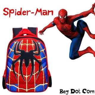 Spiderman school bag (READY STOCK)