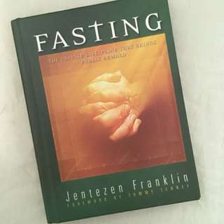 Charity Sale! Fasting by Jentezen Franklin