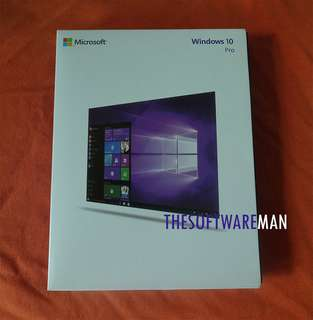 Microsoft Windows 10 Professional 64bit (Retail Version, USB) [NEW!]