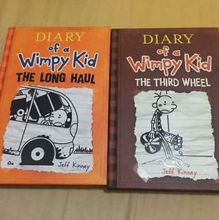 Diary of a Wimpy Kid: The Long Haul and The Third Wheel