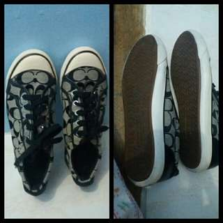 Sneakers coach size 8 1/2