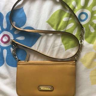 Anne Klein Yellow Mini Bag