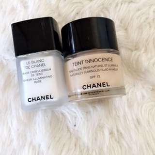 Chanel primer and foundation
