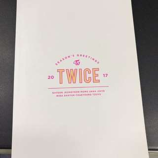 Twice 2017 season greeting schedule book