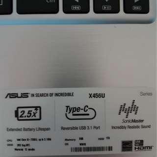 6 mth old Asus Laptop I5
