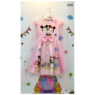 Children Dress Tsum Tsum