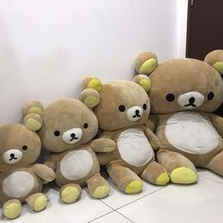 Rilakuma soft toy soft bear
