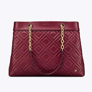 Tory Burch Fleming Triple- Compartment Tote Bag