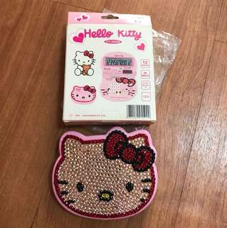 Hello Kitty Bling Bling Calculator
