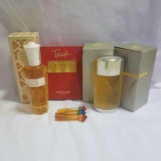 Vintage rare perfume lot