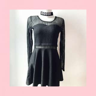 black dress pesta / party prom evening dress