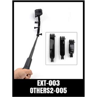 Extension Set 3 In 1 GOPRO Accessories Arm Mounting