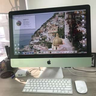 "iMac 21.5"" Mid 2010 incl HP Envy 5640 Color Printer"