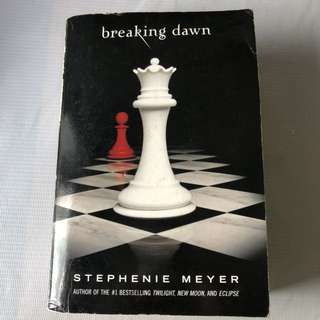 Twilight Series Breaking Dawn by Stephenie Meyer