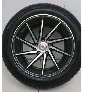 17 '' Sport Rim With Tyre 5x114.3 (SR817)