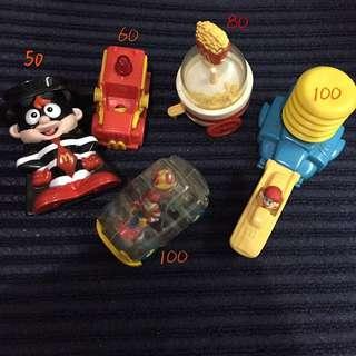 🚚 麥當勞 絕版玩具 麥當勞叔叔 漢堡神偷