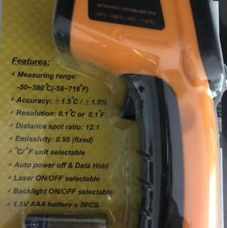 Infrared LCD Digital Thermometer