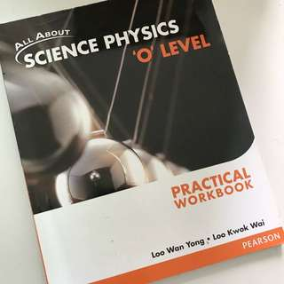 All About Science Physics Practical Workbook