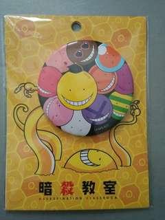 Assassination Classroom Koro-sensei Badge
