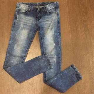SALE! Authentic Japanese Acid Wash Jeans