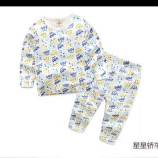 Car print pyjamas