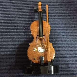 HELLO KITTY 小提琴 擺設
