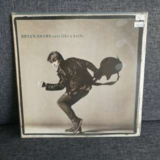Vinyl Record Bryan Adam (Cut Like A Knife)