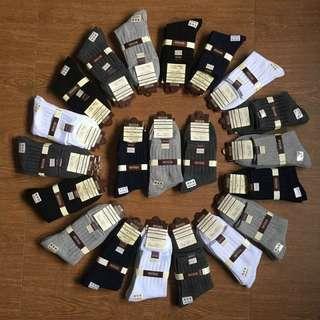 日本純棉200針雙針精舒棉襪