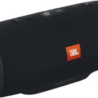 Black JBL Charge 3 speaker