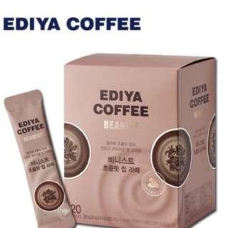 Ediya coffee Beanist chocolate latte 20T