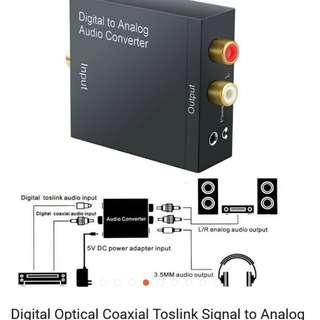 Digital analog audio converter