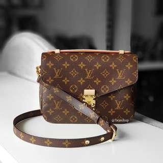 Authentic Louis Vuitton Pochette Metis LV