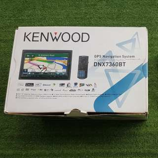 KENWOOD DNX7360BT with Garmin navigation and dash cover for Mitsubishi Lancer GT