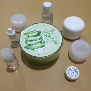 Share in Jar Nature Republic 92% Aloe Vera Soothing Gel 30ml Botol