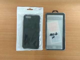 Case dan tempered glass Xiaomi Mi6