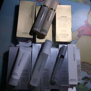 Amorepacific treatment cleansing form/oil faces & eyes/ ampoule/eye serum/time response skin renewal toner/ fluid