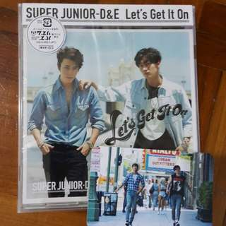 D&E let's get it on w group pc