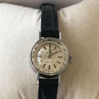 奧米加 1970年代款  女裝錶  古董手錶 全自動  OMEGA ANTIQUE FEMALE WATCH AUTOMATIC VERY RARE ITEM(日本寄出)