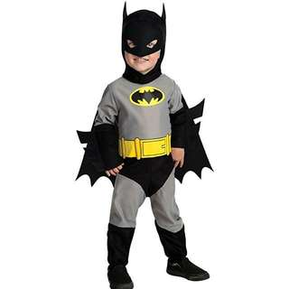 Toddler baby batman costume dc comics costume Batman outfit Halloween costume