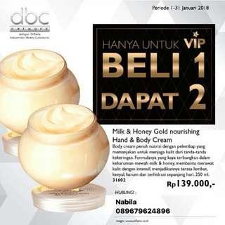 Milk&honey hand body cream buy1 get 1 free