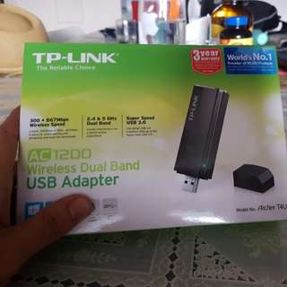 Tp link ac1200 usb wireless dual band USB adapted