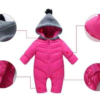 Winter Jacket Romper
