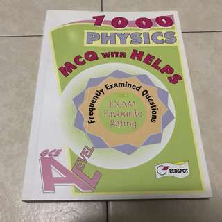 1000 Physics MCQ with helps