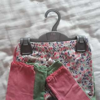 Mothercare leggings 4-5y