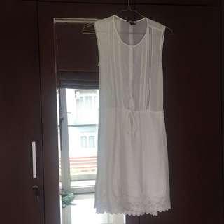 H&M Summer Dress - off white