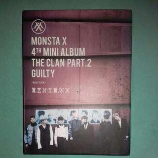 Monsta X 4th Mini Album The Clan Part2